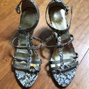 Coach Snakeskin Summer Sandals